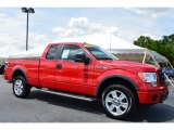 2010 Vermillion Red Ford F150 FX4 SuperCab 4x4 #104230202