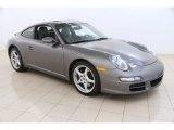 2007 Meteor Grey Metallic Porsche 911 Carrera Coupe #104254038
