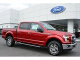 2015 Ruby Red Metallic Ford F150 XLT SuperCrew 4x4 #104253867