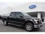 2015 Tuxedo Black Metallic Ford F150 XLT SuperCrew 4x4 #104253866