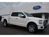 2015 White Platinum Tricoat Ford F150 Platinum SuperCrew 4x4 #104253863