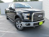 2015 Tuxedo Black Metallic Ford F150 XLT SuperCrew 4x4 #104284567