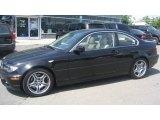 2004 Jet Black BMW 3 Series 330i Coupe #104284470