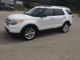 2013 White Platinum Tri-Coat Ford Explorer XLT 4WD #104284723