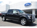 2015 Tuxedo Black Metallic Ford F150 Platinum SuperCrew 4x4 #104284511