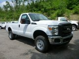 2015 Oxford White Ford F250 Super Duty XL Regular Cab 4x4 #104323215