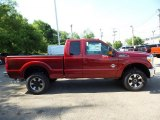 2015 Ruby Red Ford F250 Super Duty Lariat Super Cab 4x4 #104323167