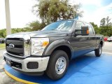 2015 Magnetic Ford F250 Super Duty XL Crew Cab #104323161