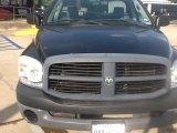2008 Brilliant Black Crystal Pearl Dodge Ram 1500 ST Regular Cab #104323334