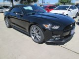2015 Black Ford Mustang EcoBoost Premium Convertible #104353890
