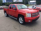 2012 Victory Red Chevrolet Silverado 1500 LTZ Extended Cab 4x4 #104354056