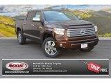 2015 Sunset Bronze Mica Toyota Tundra Platinum CrewMax 4x4 #104353819