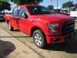 2015 Race Red Ford F150 XL SuperCrew #104353884