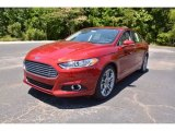 2016 Ruby Red Metallic Ford Fusion Titanium #104381589