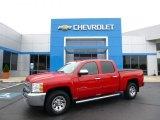 2012 Victory Red Chevrolet Silverado 1500 LS Crew Cab 4x4 #104381477