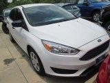 2015 Oxford White Ford Focus S Sedan #104381383