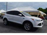 2013 White Platinum Metallic Tri-Coat Ford Escape SEL 1.6L EcoBoost #104381472
