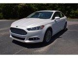 2015 White Platinum Metallic Ford Fusion Titanium #104381577
