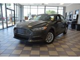 2016 Magnetic Metallic Ford Fusion S #104381574