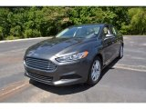 2015 Magnetic Metallic Ford Fusion SE #104381573