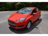 2015 Race Red Ford Fiesta SE Sedan #104381568