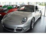 2007 Arctic Silver Metallic Porsche 911 Turbo Coupe #104381549