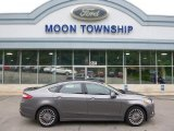 2013 Sterling Gray Metallic Ford Fusion Titanium #104381499