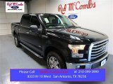 2015 Tuxedo Black Metallic Ford F150 XLT SuperCrew 4x4 #104409311