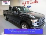 2015 Tuxedo Black Metallic Ford F150 XL SuperCab #104409309