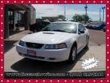 2001 Oxford White Ford Mustang V6 Coupe #104409463