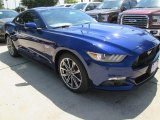 2015 Deep Impact Blue Metallic Ford Mustang GT Premium Coupe #104409336