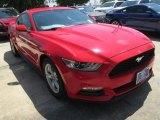 2015 Race Red Ford Mustang V6 Coupe #104409333
