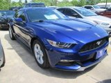 2015 Deep Impact Blue Metallic Ford Mustang V6 Coupe #104409332
