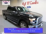 2015 Tuxedo Black Metallic Ford F150 XLT SuperCrew #104409317