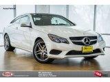 2016 designo Diamond White Metallic Mercedes-Benz E 400 Coupe #104409427
