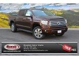2015 Sunset Bronze Mica Toyota Tundra Platinum CrewMax 4x4 #104439596