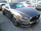 2015 Magnetic Metallic Ford Mustang EcoBoost Premium Convertible #104439727