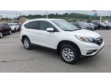 2015 White Diamond Pearl Honda CR-V EX-L AWD #104439815