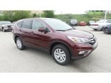 2015 Basque Red Pearl II Honda CR-V EX AWD #104439811