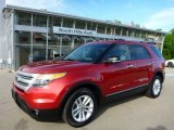 2011 Red Candy Metallic Ford Explorer XLT 4WD #104439878