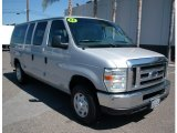 2008 Silver Metallic Ford E Series Van E350 Super Duty XLT Passenger #104439699