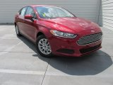 2016 Ruby Red Metallic Ford Fusion S #104439957