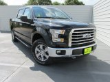 2015 Tuxedo Black Metallic Ford F150 XLT SuperCrew 4x4 #104439951