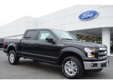 2015 Tuxedo Black Metallic Ford F150 Lariat SuperCrew 4x4 #104439865