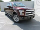 2015 Bronze Fire Metallic Ford F150 Lariat SuperCrew #104439949