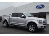 2015 Ingot Silver Metallic Ford F150 Platinum SuperCrew 4x4 #104439862