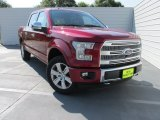 2015 Ruby Red Metallic Ford F150 Platinum SuperCrew 4x4 #104439946