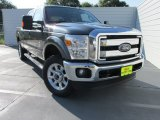 2015 Magnetic Ford F250 Super Duty Lariat Crew Cab 4x4 #104439942