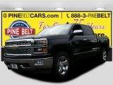 2015 Black Chevrolet Silverado 1500 LT Crew Cab 4x4 #104480821