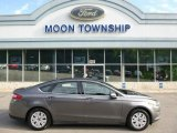 2013 Sterling Gray Metallic Ford Fusion S #104481137